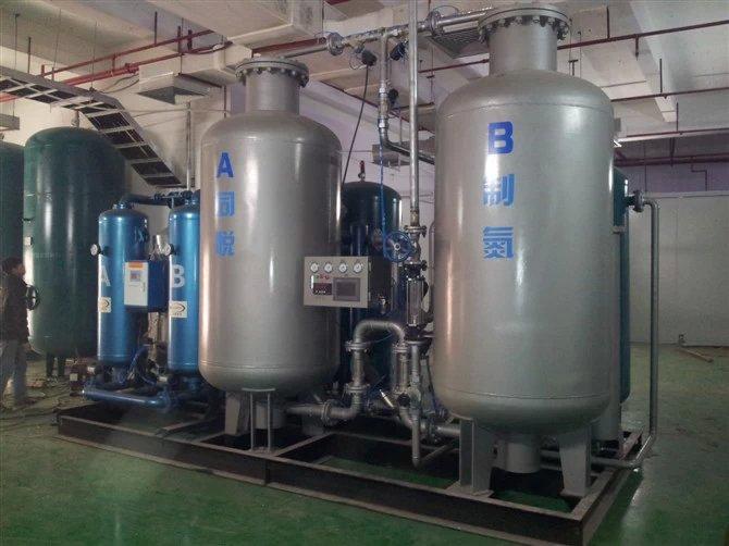 Carbon Steel High Pressure Nitrogen Generator -40℃ Dew Point 1