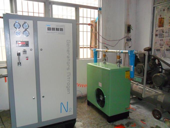 Stainless Steel PSA Nitrogen Gas Generator 95%-99.9995% Purity For Grain Storage 0