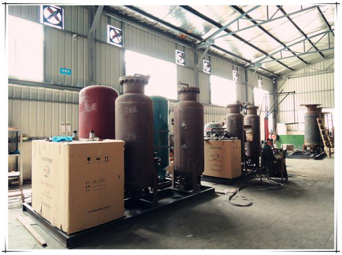 Touch Screen Control Industrial Nitrogen Generator For Heat Treatment Industry 0