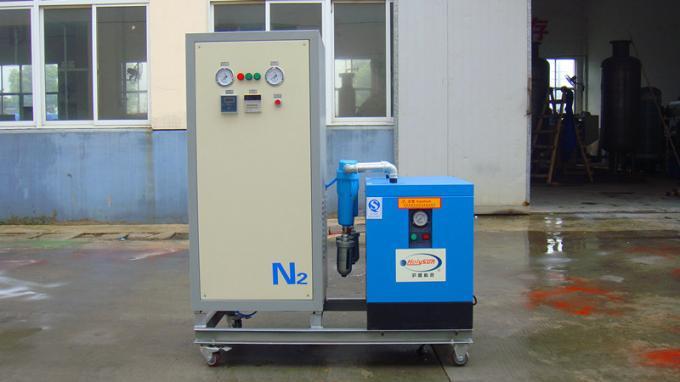 CE ISO Carbon Steel Psa Nitrogen Generation System With Carbon Molecular Sieve 0