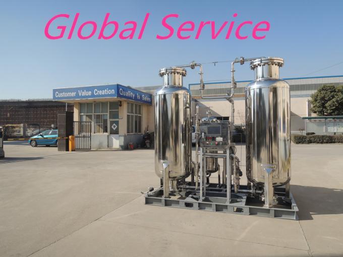 Stainless Steel Small Nitrogen Generator , High Purity Nitrogen Generator PSA 0