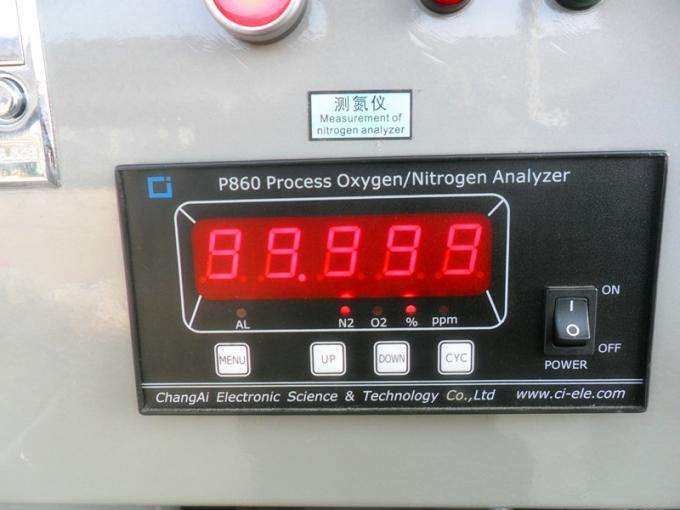 High Pressure Nitrogen Generator With Atlas Copcp Air Compressor / Gas Storage Tank 0