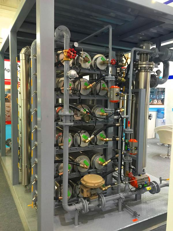 Customized Color Membrane Gas Separation Equipment -45 Degree Celsius 0