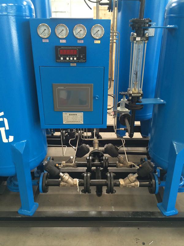 Two Columns Filled Medical Oxygen Generator 150-200 Barg End Pressure 0