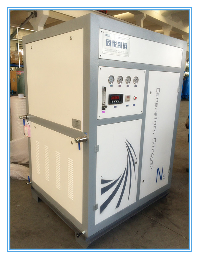Small High Purity PSA Nitrogen Generator System Automatic Operating For Food Plant 0