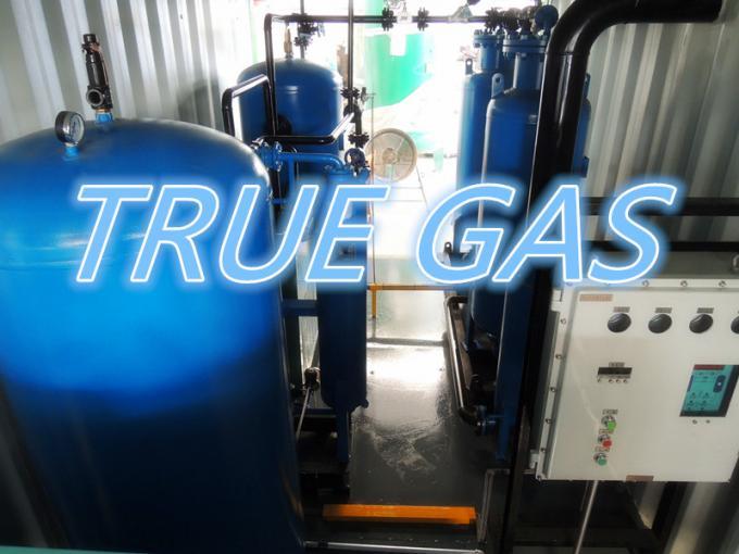 100m3/H Container Type Nitrogen Generation Plant Pipeline Nitrogen Filling Usage 0