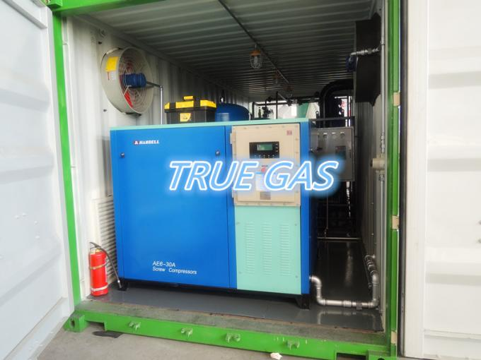 300Nm3/H High Purity 99.9% Container Type Psa Nitrogen Plant With Atlas Copco Screw Air Compressor 0