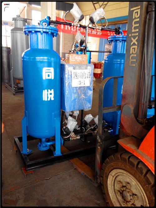 True Gas Industrial Nitrogen Generator 4.8 * 2.35 * 3.3m High Purity 99.99% 0