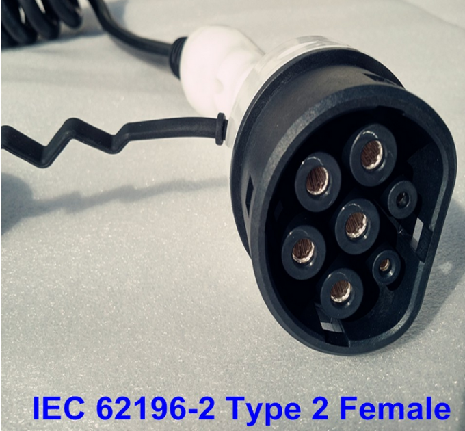 IEC 62196-2 Type 2 EV Charging Connector