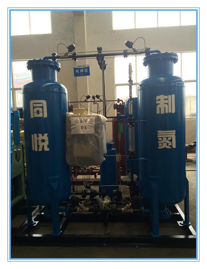 Psa Nitrogen Generation System PSA Nitrogen Generator 1800*1400*1500 Mm 0