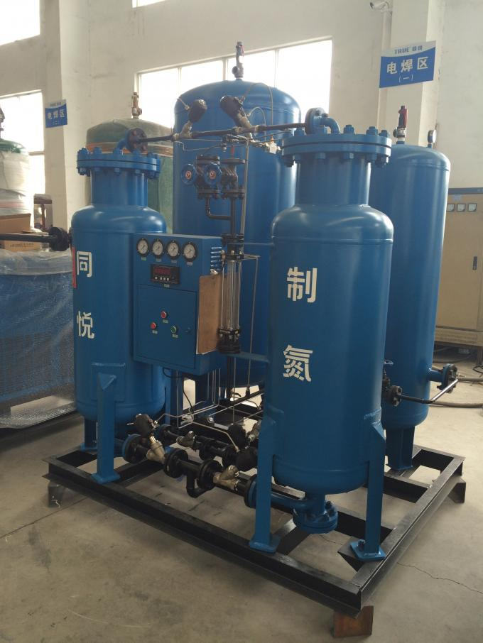 PSA Technology Psa Nitrogen Gas Generator High Purity 95-99.9995% Capacity 3-2000 Nm3/H 0