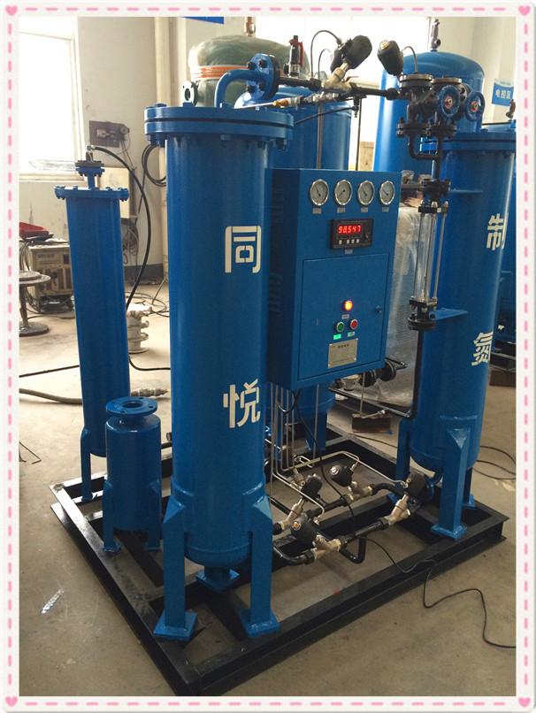 1 - 8 Bar Adjustable PSA Nitrogen Generator SS304 SIEMENS PLC Controller 0
