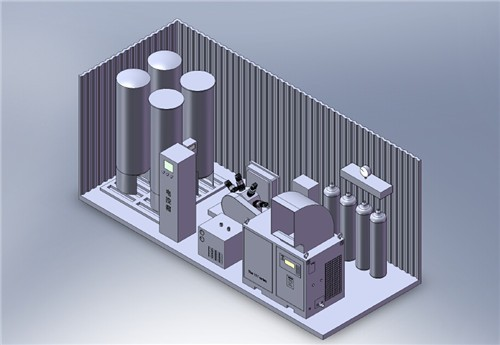 Energy-Saving PSA Nitrogen Generator