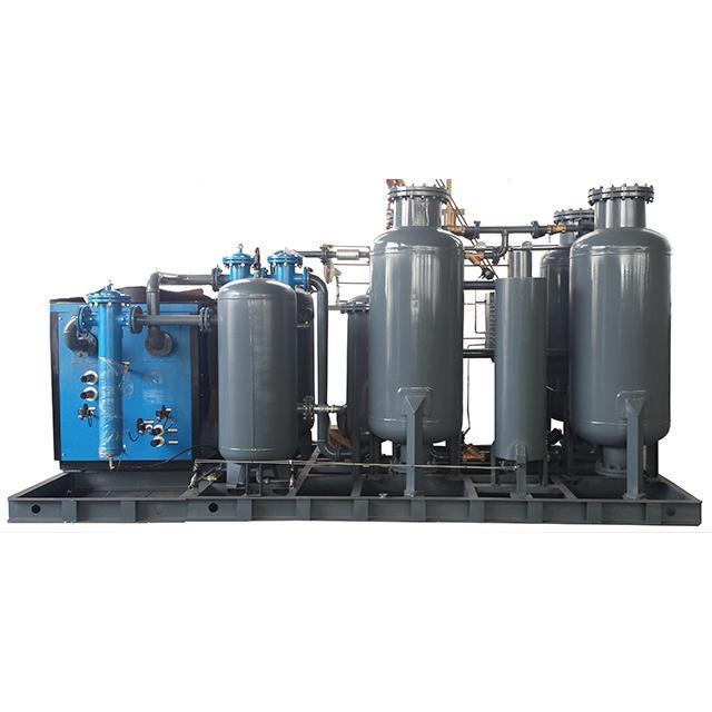 Carbon Stainless Steel PSA Nitrogen Generator System Blue / White 1