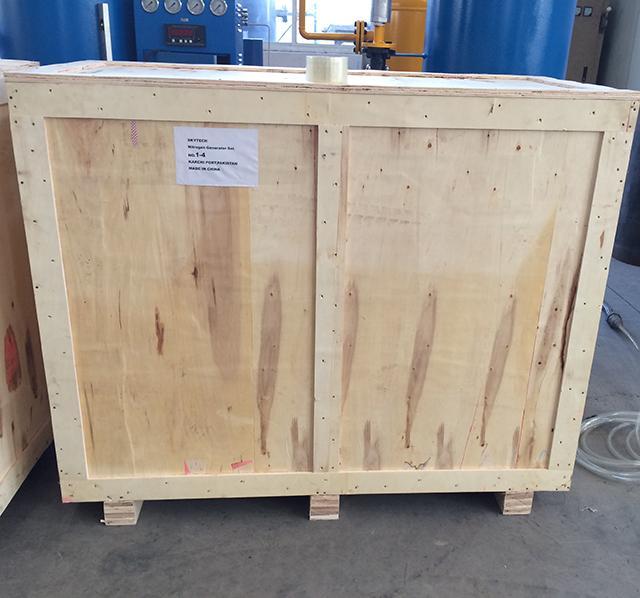 Powder Storage 99.99% PSA Nitrogen Generator , Nitrogen Output 2Nm3/h 2