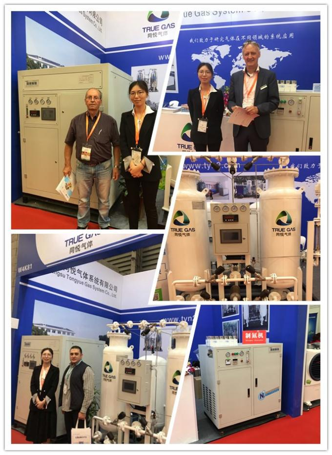 PSA Portable Nitrogen Generator for Food Packing and Storage Capacity 3Nm3/h Purity 99.9% 3