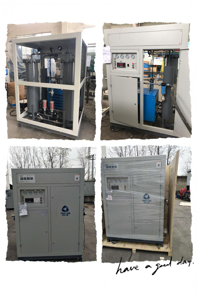 Atmospheric Desorption PSA Oxygen Making Machine 90% Purity 10 M3/ H For Fish Farming 0