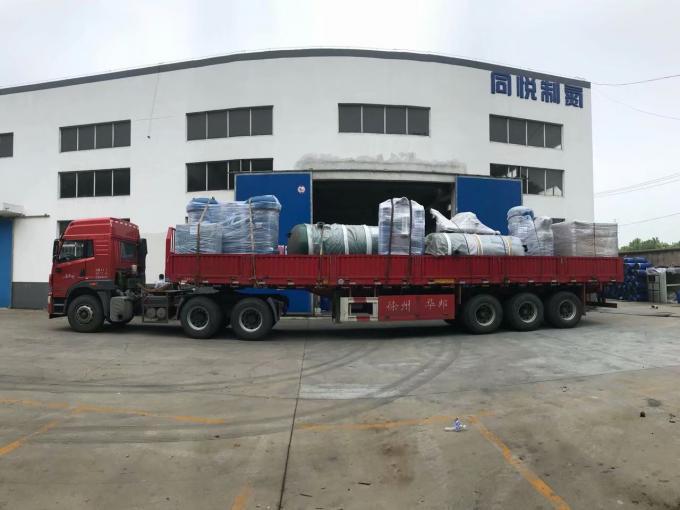 Nitrogen Making Machine With Air Compressore / Nitrogen Storage Tank 0