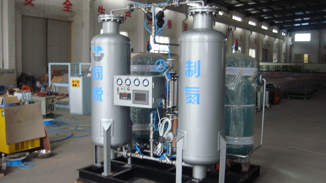 6 Bar Oil Filing Industrial Nitrogen Generator / Gas Filling Station Protective Nitrogen Gas System