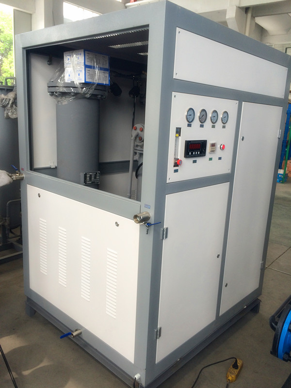 99.99% Purity Nitrogen Gas Plant 30Nm3 / H Pressure Swing Adsorption Type