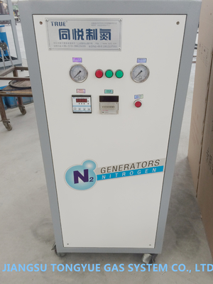 Army Vehicle Tyre Filling Mobile Nitrogen Generation Unit 0.8 Mpa Pressure