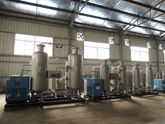 Electronics Industry Nitrogen Gas Generation System 150Nm3 / H N2 Output Flow
