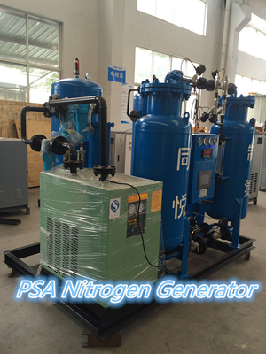 Blue Automated Liquid Nitrogen Generator High Performance Freezing